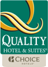 Quality Inn & Suites Airport Hotel in Flint, MI logo